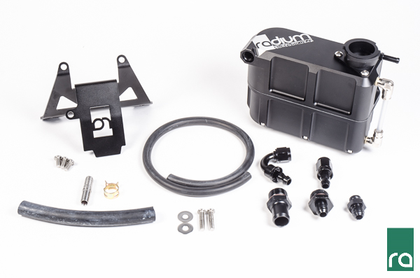 2015+ Ford Mustang Ford Radium Engineering Coolant Tank Kit