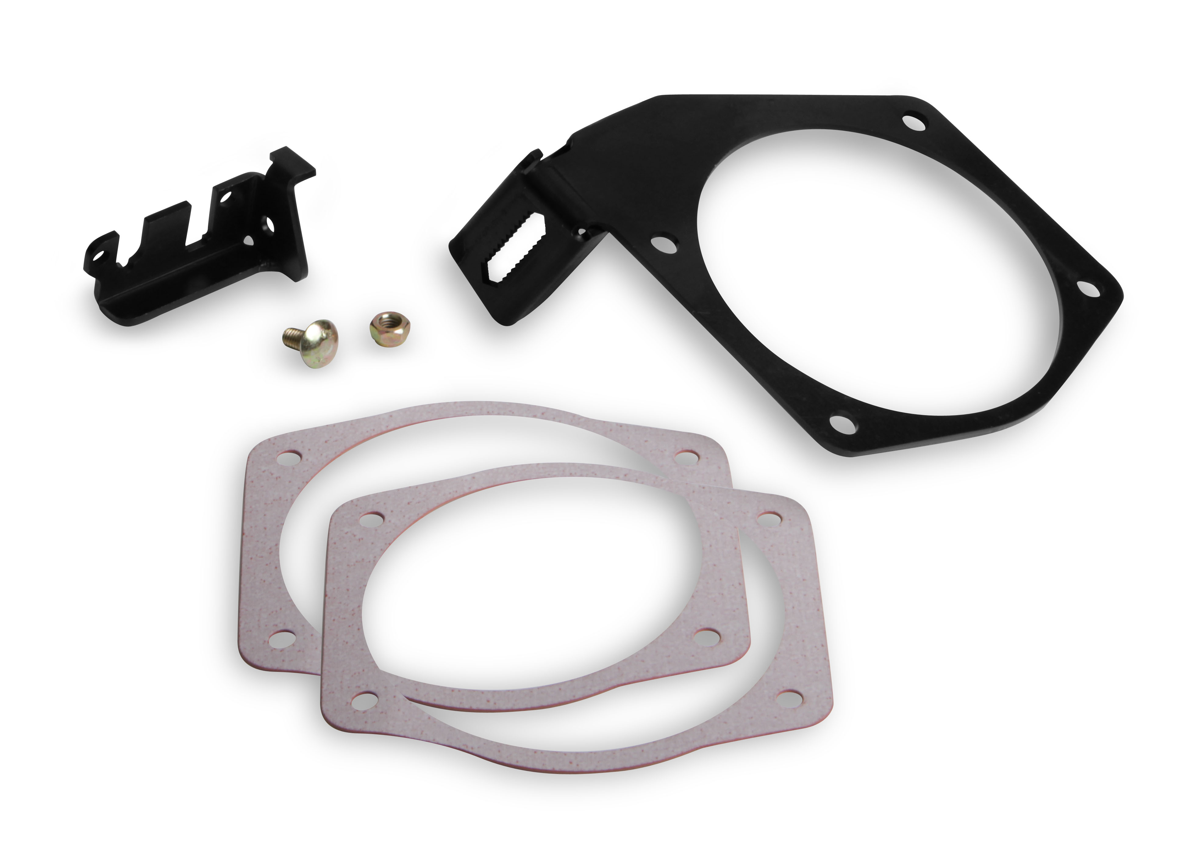 LS Holley Cable Bracket for 95mm Throttle Bodies & Factory or FAST Style Intakes