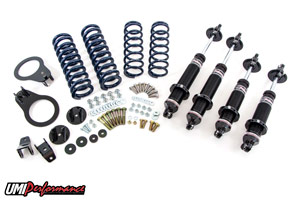 93-02 Fbody UMI Performance Complete Coil Over Kit w/Single Adjustable Monotube Shocks