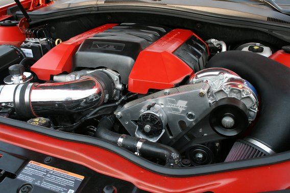 2010+ Camaro SS 6.2L V8 Vortech V-3 Si-Trim Supercharger Kit (Polished Finish)