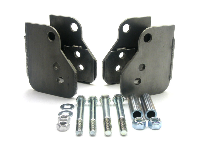 "82-02 UMI Perf. Relocation Brackets for Moser 12bolt & 9"" Rears"
