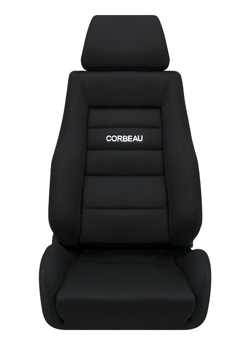 Corbeau GTS II Seats - Black Cloth