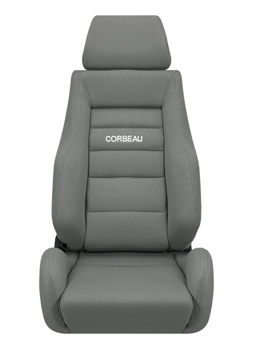 Corbeau GTS II Seats - Grey Cloth