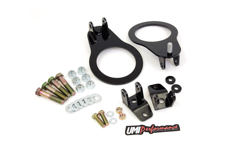 82-02 Fbody UMI Performance Rear Coil Over Bracket Kit - Bolt In