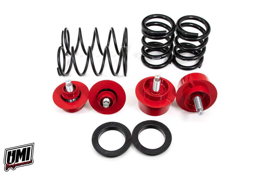 82-92 Fbody UMI Performance Front and Rear Weight Jack Kit - Street