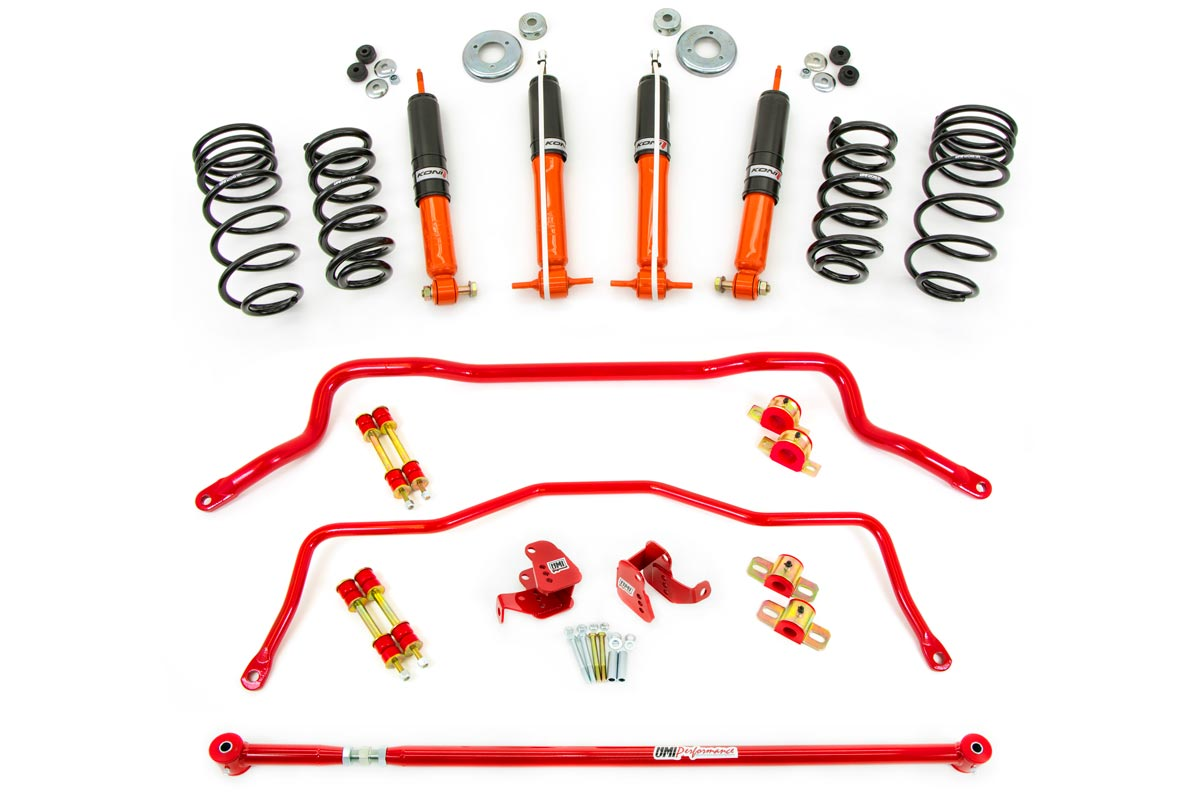 93-02 Fbody UMI Performance Shock/Spring/Sway Bar/Relo Kit