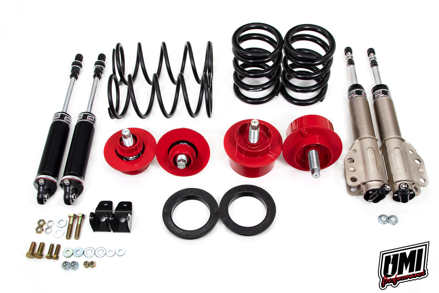 82-92 Fbody UMI Performance Weight Jack and Shock Kit - Front/Rear (Race)