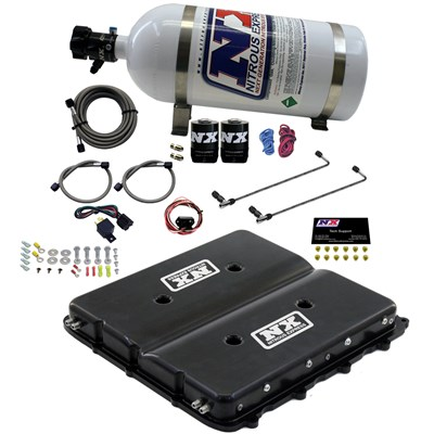 LT4 Nitrous Express Nitrous System with Billet LT4 Supercharger Lid w/ No bottle