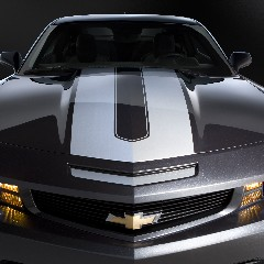 2010+ Camaro GM Performance Decal/Stripe Package - Synergy Stripes - Silver For use w/Coupes