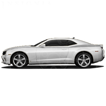 2010+ Camaro GM Performance Decal/Stripe Package - Heritage Stripes - Silver