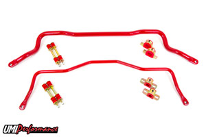 93-02 Fbody UMI Performance Tubular Front and Rear Sway Bar Kit