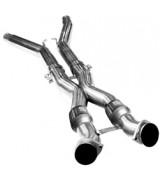 "2005-2008 C6 Corvette Kooks 3"" x 3"" Catted Xpipe (For Kooks Headers to OEM Connection)"