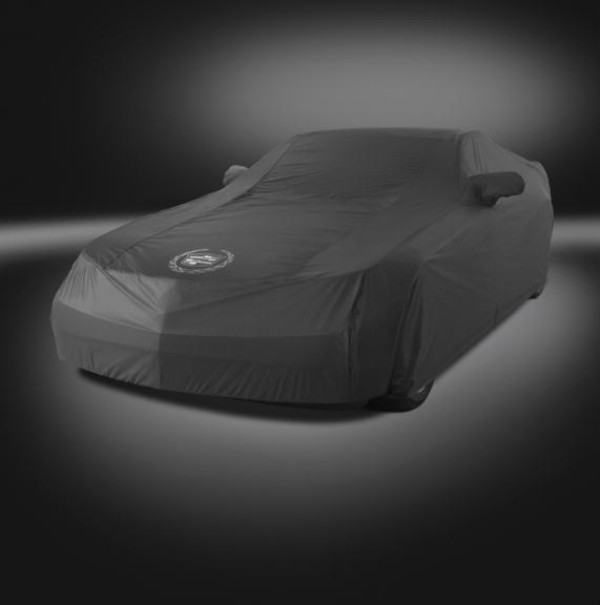 2013+ Cadillac CTS-V Sedan GM Performance Outside All Weather Car Cover - Ebony/Gray Crest