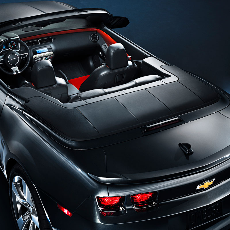 [22931371], 2011+ Camaro GM Performance Parts Convertible Tonneau Cover