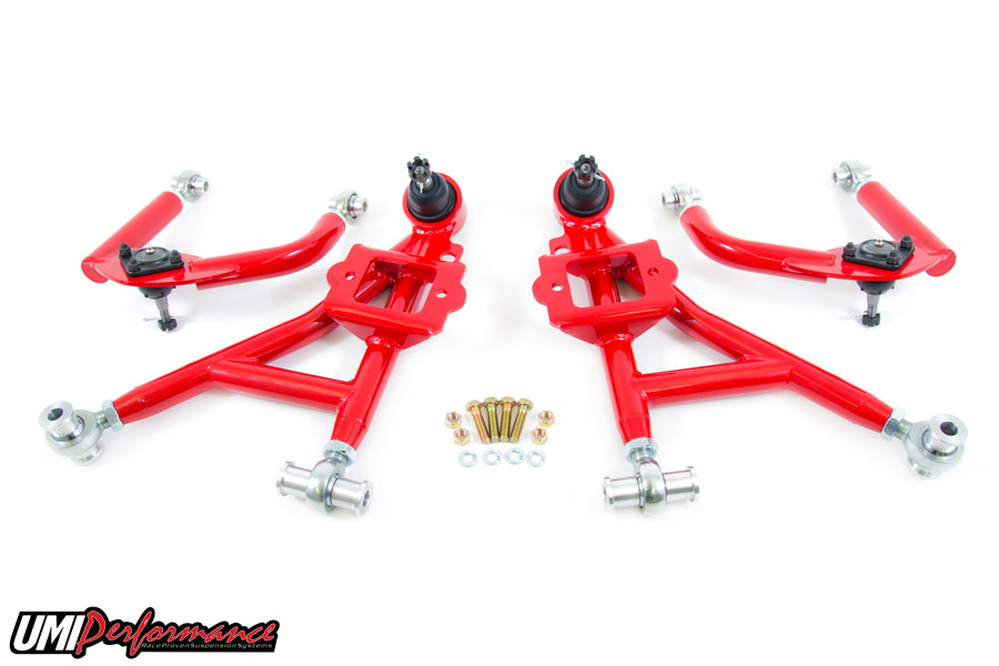 93-02 Fbody UMI Performance Front Lower and Upper Control Arms(Drag Kit)