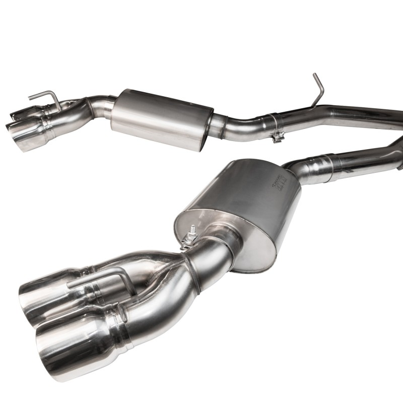 "2016+ Cadillac CTS-V Kooks 3"" Off Road (No Cats) Exhaust w/ Polished Tips"
