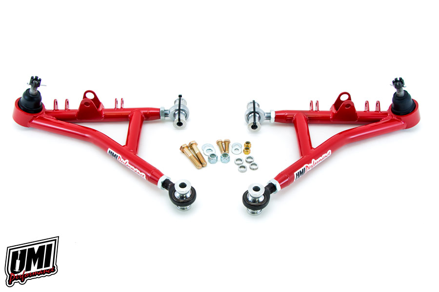 93-02 Fbody UMI Performance Tubular Chromoly Lower A-Arms - Drag Race