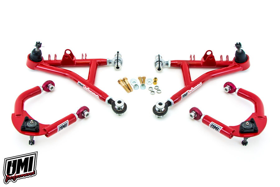 93-02 Fbody UMI Performance Tubular Chromoly Adjustable Lower A-Arms - Drag Race