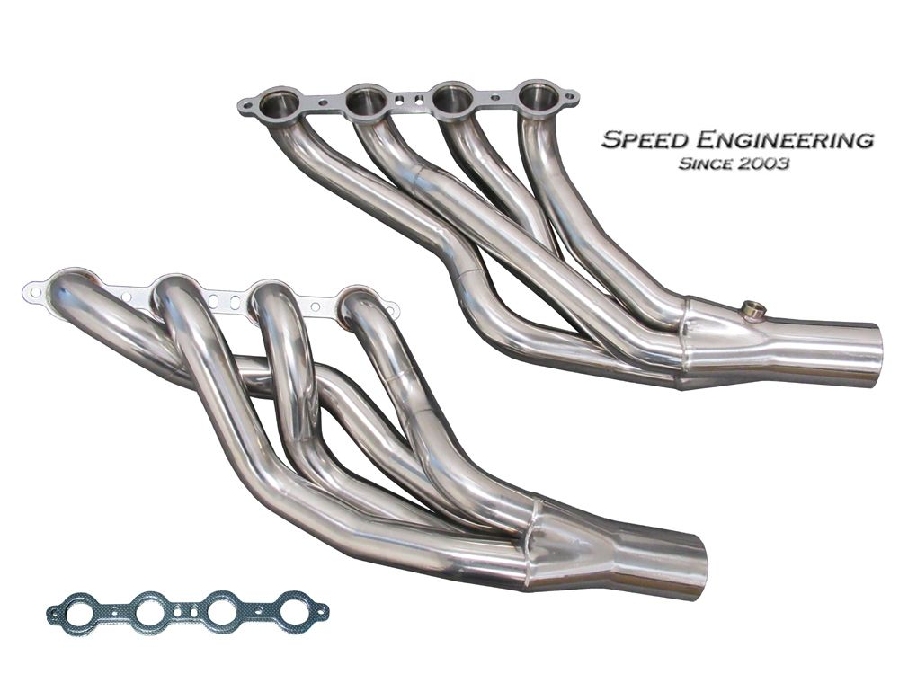 "2009-2015 Cadillac CTS-V Speed Engineering 2"" Longtube Headers"