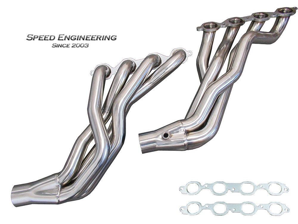 "2016-2019 Cadillac CTS-V Speed Engineering 2"" Longtube Headers"