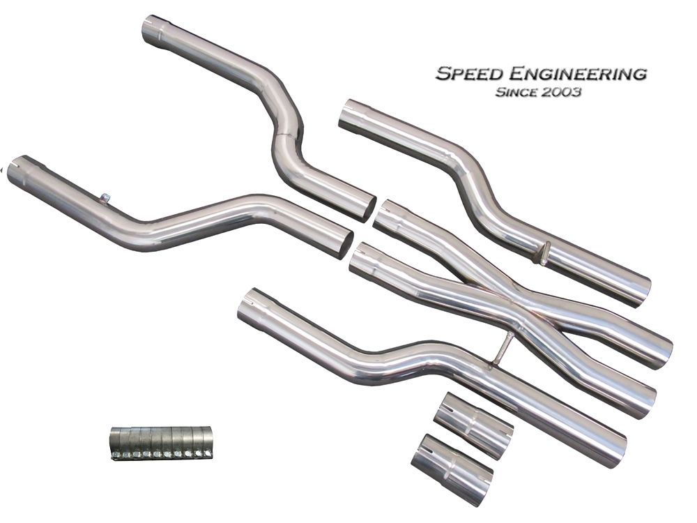"2016-2019 Cadillac CTS-V Speed Engineering 3"" Offroad Xpipe Kit"