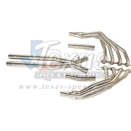 "97-04 C5/ZO6 Corvette Texas Speed & Performance 1 3/4"" Long Tube Headers w/3"" Catted Xpipe"