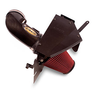 2009+ Cadillac CTS-V AIRAID Cold Air Intake (Carbon Fiber Finish) w/SynthaFlow - Oiled Air Filter
