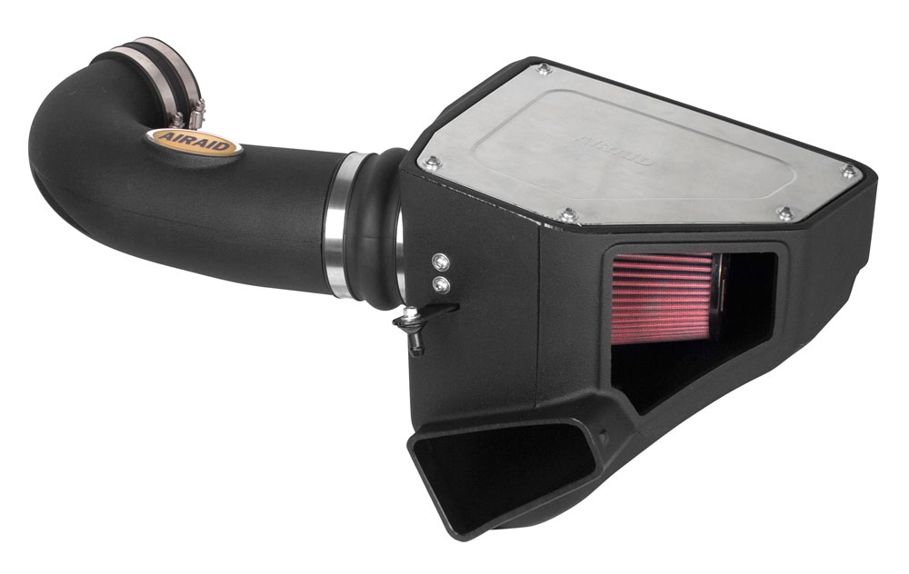 2016+ Camaro SS AIRAID MXP Air Intake System - w/Red Oiled Filter