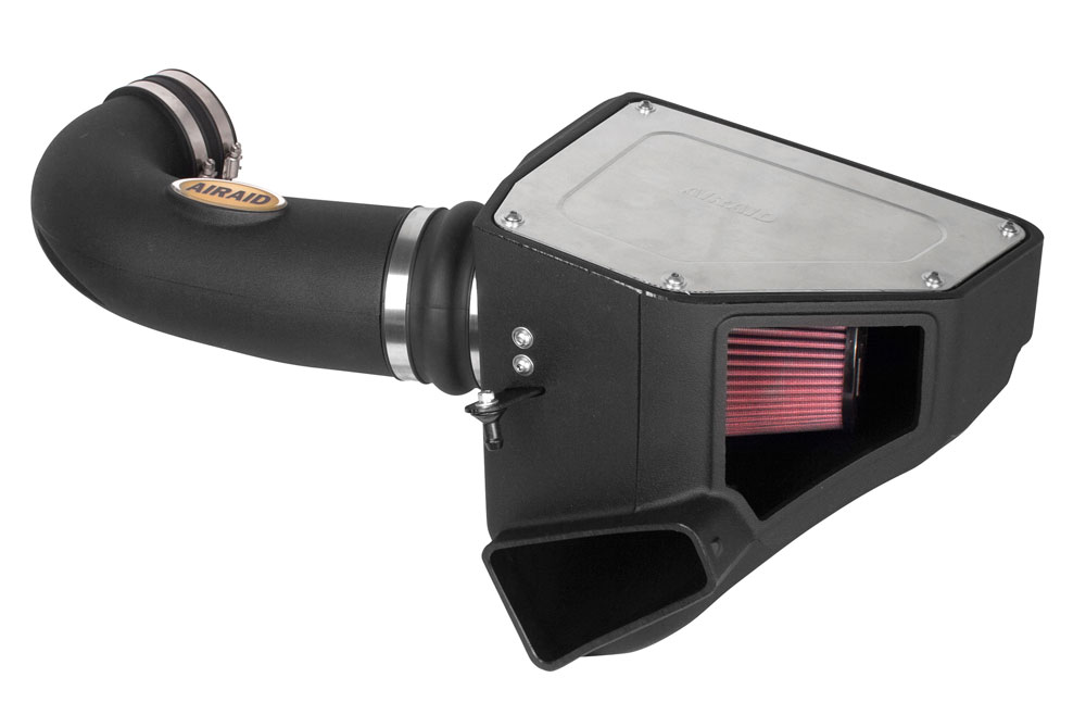 2016+ Camaro SS AIRAID MXP Air Intake System - w/Red Dry Synthetic Filter