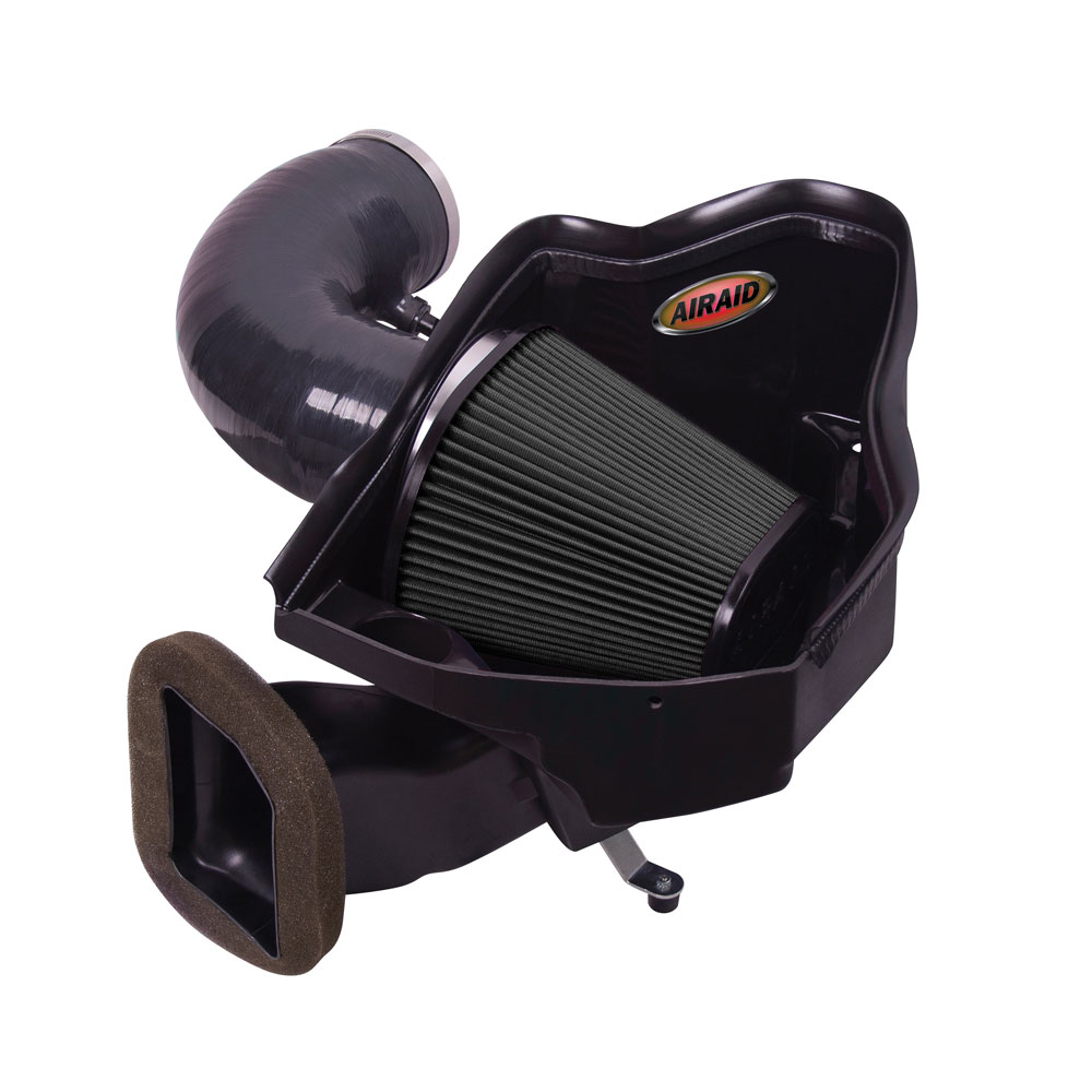 2010-2015 Camaro ZL1 AIRAID CAD Cold Air Intake System (Dry/Black Media)