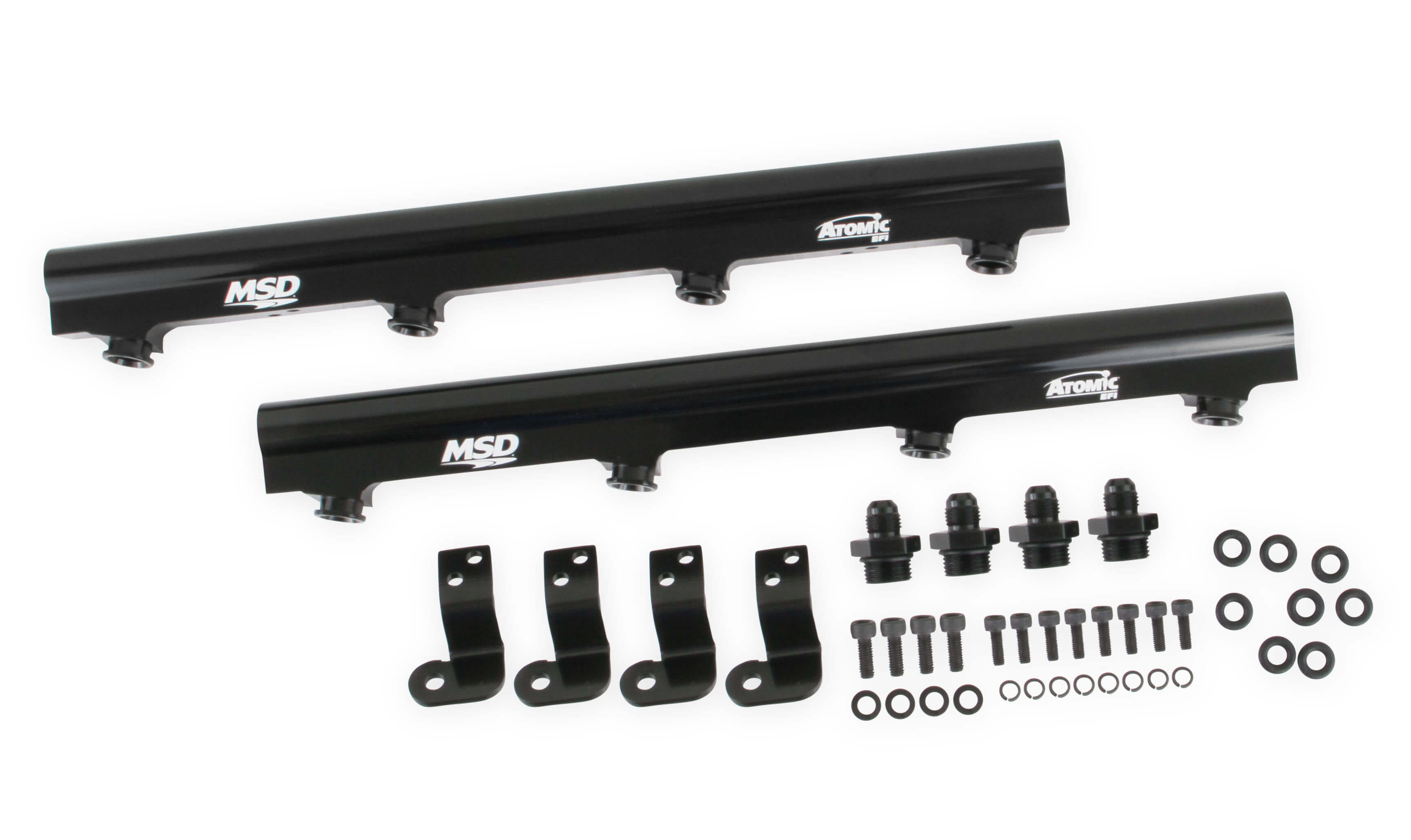 LS1/LS2/LS6 MSD Atomic EFI Billet Fuel Rails