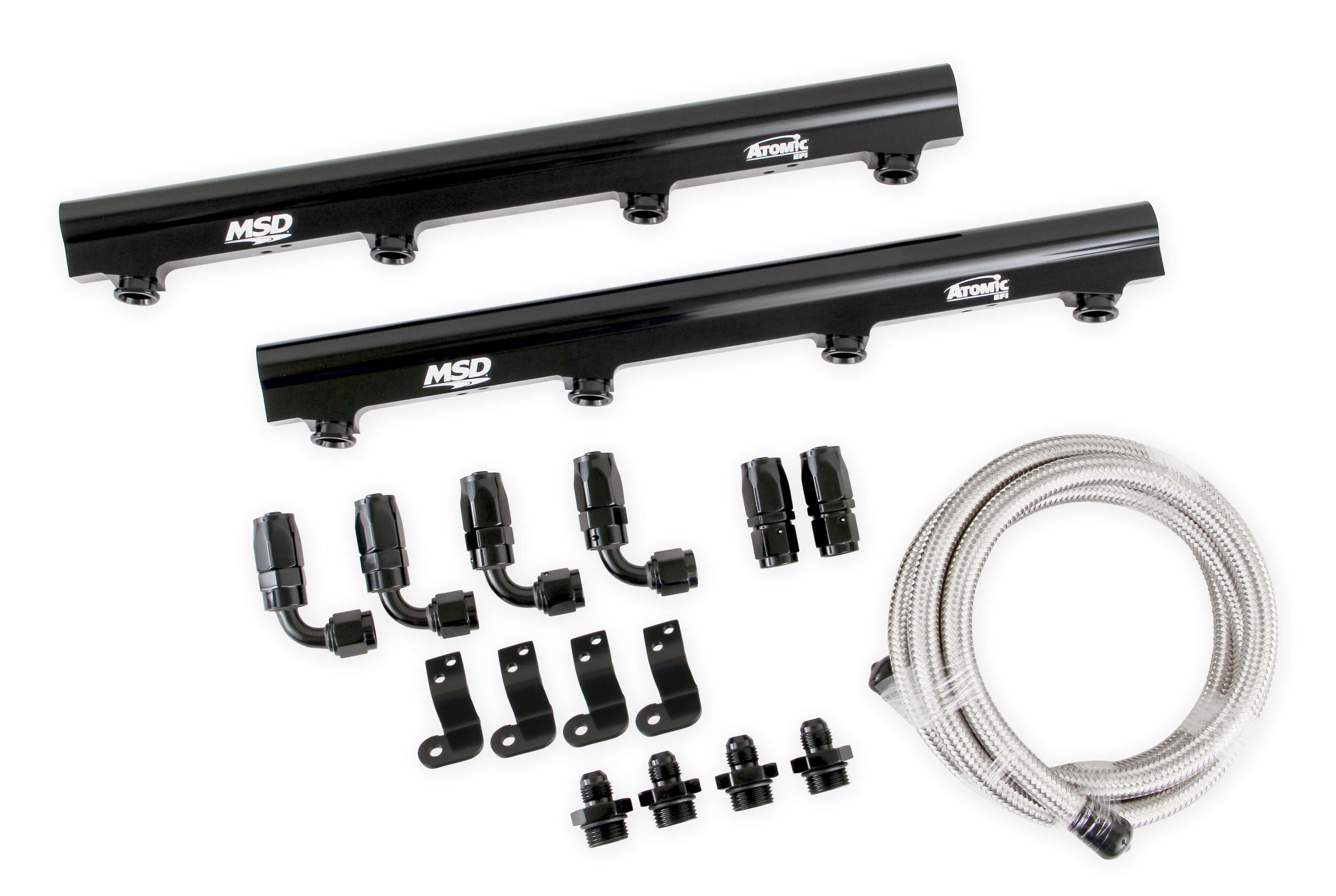 LS1/LS2/LS6 MSD Atomic EFI Billet Fuel Rail Kit