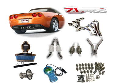2005 Corvette SLP LoudMouth II Exhaust w/High Flow Cats ZL465HP