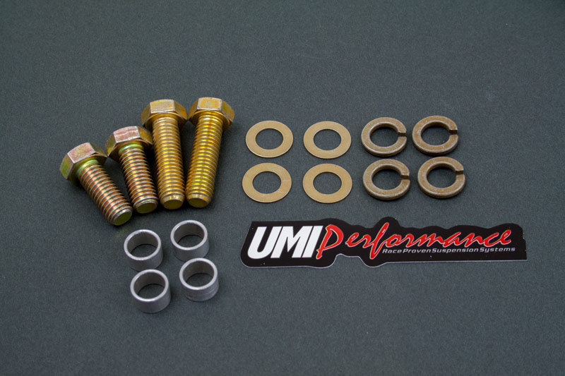 82-02 Fbody UMI Performance Rear Torque Arm Hardware Kit - Moser 12 Bolt