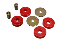 82-92 Fbody Energy Suspension Transmission Crossmember Mount Bushing Kit - Red