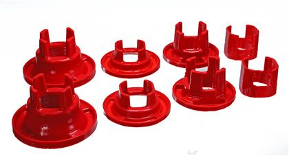 2010 Camaro Energy Suspension Rear Subframe Mount Inserts - Red