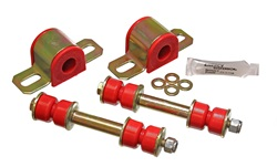 82-02 Fbody Energy Suspension 23mm Polyurethane Rear Swaybar Bushing Kit w/Endlinks - Red