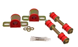 82-02 Fbody Energy Suspension 24mm Polyurethane Rear Swaybar Bushing Kit w/Endlinks - Red
