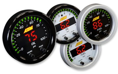 "AEM X-Series 2 1/16"" Oil/Fuel/Pressure Gauge"