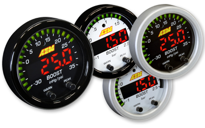 "AEM X-Series 2 1/16"" Boost Pressure Display Gauge"
