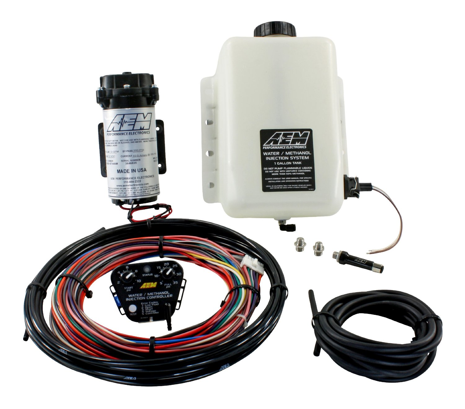 AEM Water / Methanol Injection Kit V2 -1 Gallon