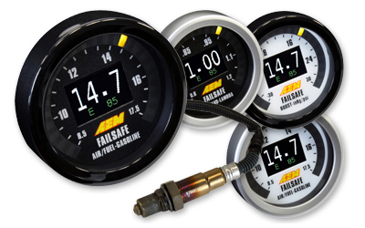 AEM Flex Fuel Wideband Failsafe Gauge -No Flex Fuel Sensor