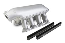 LS1/LS2/LS6 Holley Performance Modular Hi-Ram Intake Manifold - 102mm Throttle Body Opening