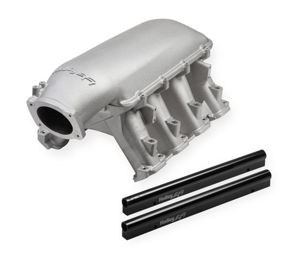 GM Gen V LT1 Holley Hi-Ram Intake Manifold 105mm w/out Port EFI Provisions & Fuel Rails