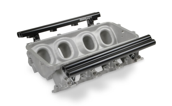 LS1/LS2/LS6 Holley Dual Fuel Injector Lo-Ram Manifold Base