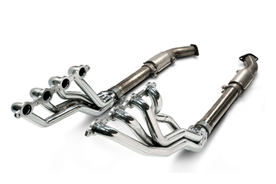 2004 GTO SLP Coated Long Tube Headers w/High Flow Cats