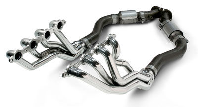 2005-06 GTO SLP Coated Long Tube Headers w/High Flow Cats