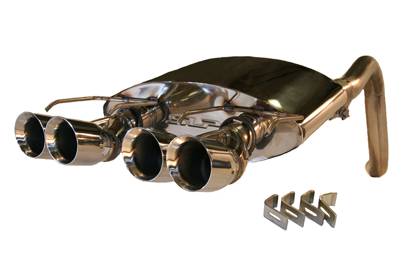 2005-08 C6 SLP PowerFlo Exhaust system with Split Round Tips
