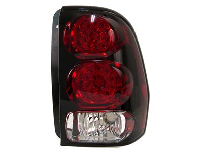 2006-09 Trailblazer SS Anzo Rear LED Tail Lights - Red Housing/Clear Lens