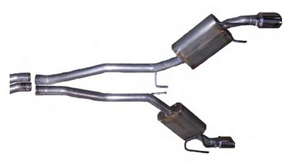 2010+ Camaro LS/LT V6 Gibson Aluminized Rear Axle Back Exhaust System
